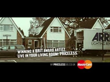 MasterCard My Priceless Gig