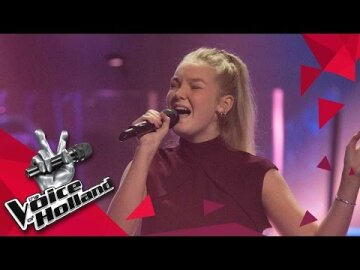 Singing at The Voice of Holland