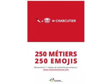250 Métiers. 250 Emojis 3