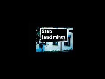 Stop Landmines - Grass