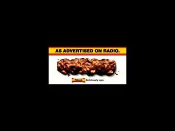 As advertised on Radio