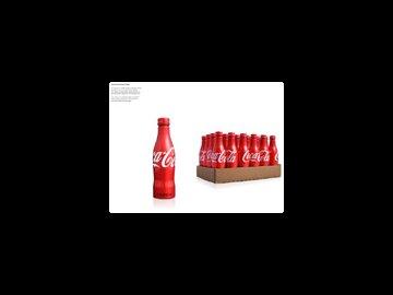 Coke Classic Aluminium Bottle