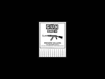 Gun Show Flier