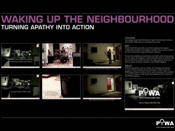 Waking Up The Neighbourhood (Board)