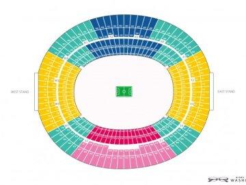 Football Stadium Seating Chart
