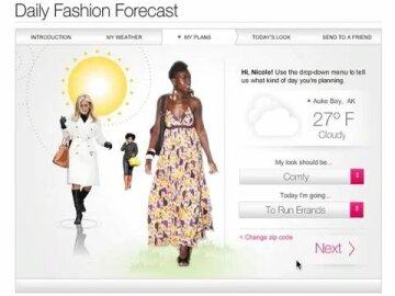 Daily Fashion Forecast App