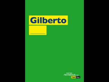 FONT ME I'M FAMOUS_GILBERTO