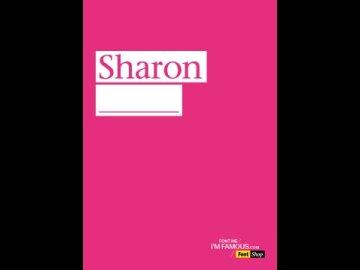 FONT ME I'M FAMOUS_SHARON