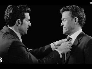 Teaser Luís Figo - Luis Enrique