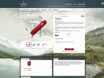 Victorinox Companion for Life- True Stories Campaign and the website launch
