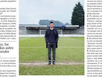 Press interview - Cazorla
