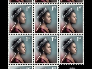Fashion Royalty -Michelle Obama stamp sheet
