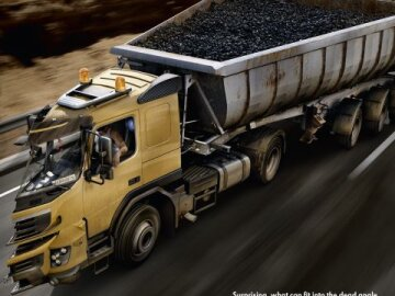 Coal Dump Truck