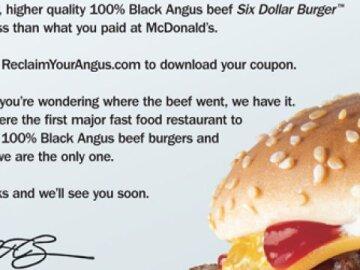 Black Angus Letter
