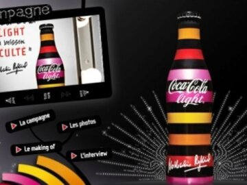 Coca-Cola light - Rykiel - Site internet
