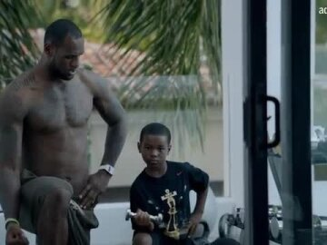 Lebron James - At Home