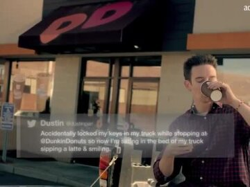 Dustin's #mydunkin Latte Story