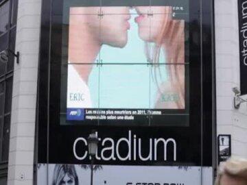 """Opération """"L'art du French Kiss"""" par Jean-Paul Gaultier"""