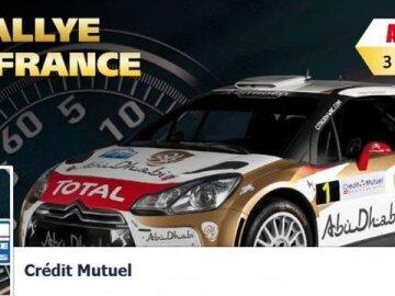 Onglet Facebook Rallye de France Alsace