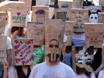 Paper Bags on their Heads