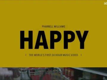 Pharrell Williams - 24 Hours of Happy