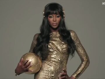Golden with Naomi Campbell