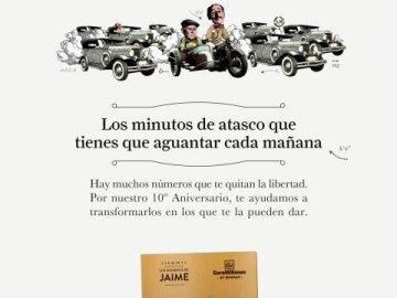 Traffic Jam + Jaime Card