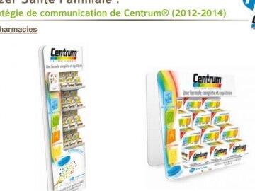 Stratégie de communication de Centrum® (2012-2014)