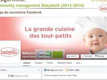Community management Babybio® (2013-2014)