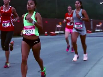 Nike Motivational Experience at the San Francisco Women's Half Marathon