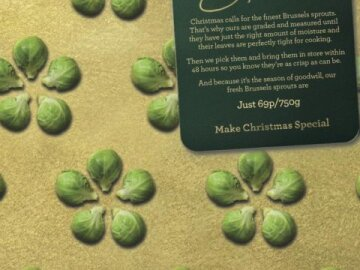 Sprouts Christmas Wrapping Paper