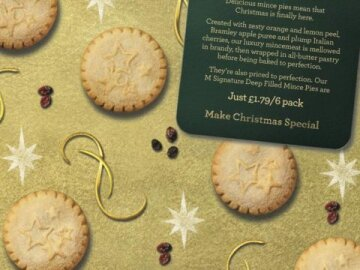 Mince Pies Christmas Wrapping Paper
