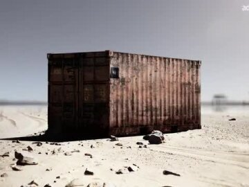 It's not a container. It's a prison (French)