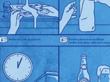 The Beer Freeze Ad