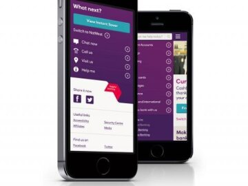 NatWest Mobile Website Redesign