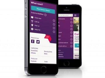 NatWest Mobile Website Redesign