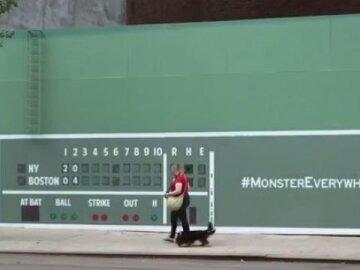 Benjamin Moore Brings the Green Monster to New York