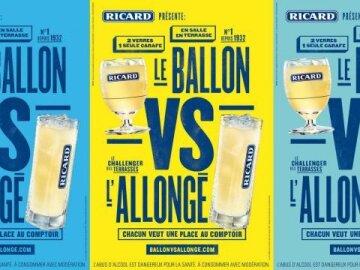 Le Ballon VS l'Allongé