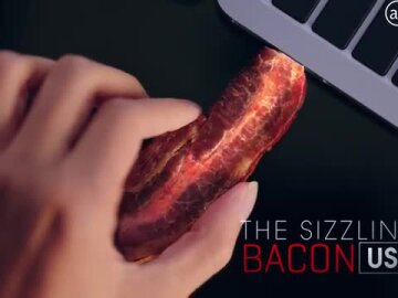 Introducing The Sizzling Bacon USB Drive