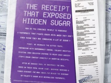 Hidden Sugar Receipt