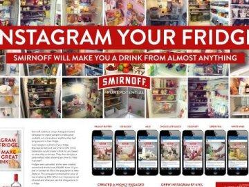 Smirnoff Instagram your Fridge