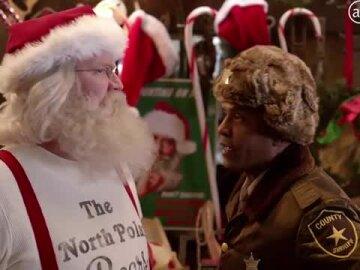 Santa falls victim to the Bah-Hum Bug
