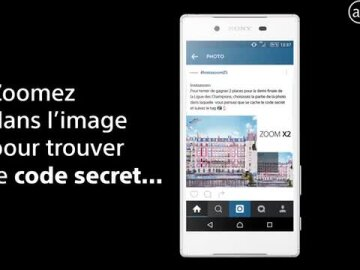 #InstazoomZ5 the first ZOOM on Instagram by Sony Xperia.