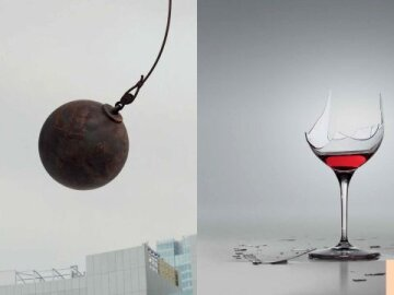 Wrecking Ball Glass