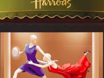 Turning The World Oval - Harrods