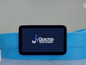 Quilted Northern® uSit: World's first biometric bathroom device