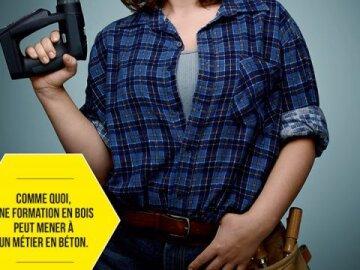 Amelie Chambon : Menuisière