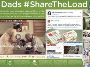Dads #ShareTheLoad (integrated case)