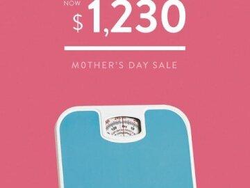 Mom doesn't want it - Bath Scale