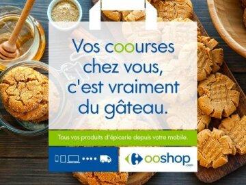 Ooshop: Vos courses chez vous